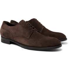 Ermenegildo Zegna Rivoli Flex Suede Derby Shoes