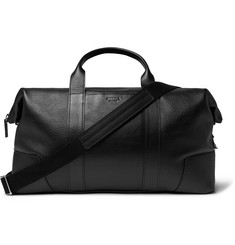 Shinola Textured-Leather Duffle Bag