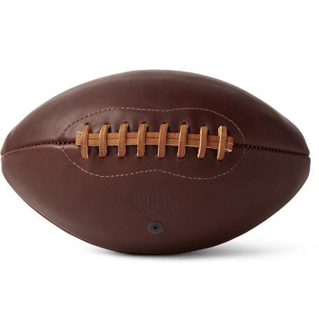 LEATHER AMERICAN FOOTBALL from MR PORTER