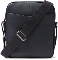 Dunhill Hampstead Full-Grain Leather Messenger Bag