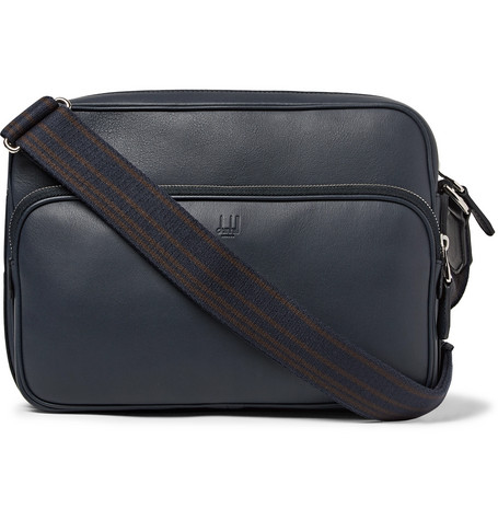 Hampstead City Leather Messenger Bag by Dunhill
