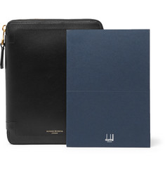 Dunhill - Duke A5 Zip-Around Leather Notebook Cover