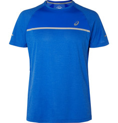 ASICS Mesh-Panelled Stretch-Jersey T-Shirt