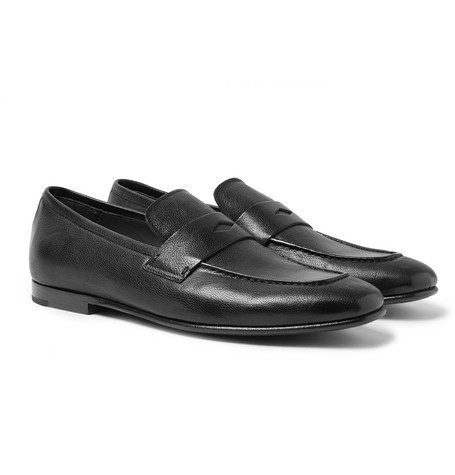 Chiltern Leather Loafers - Black