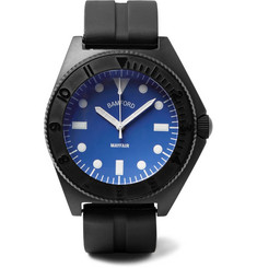 Bamford Watch Department - Mayfair Stainless Steel and Rubber Watch