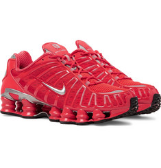 Nike Shox TL Mesh and Rubber Sneakers