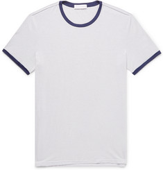 Ermenegildo Zegna Striped Stretch Modal-Blend T-Shirt