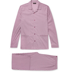 Ermenegildo Zegna Printed Cotton-Blend Pyjama Set