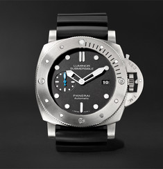 Officine Panerai Luminor Submersible 1950 3 Days Automatic 47mm Titanium and Rubber Watch