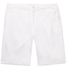 Onia Austin Slim-Fit Linen Shorts