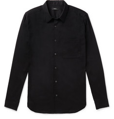 Theory Mendon Irving Stretch-Cotton Poplin Shirt