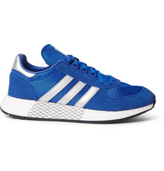 adidas Originals Marathon 5923 Mesh and Suede Sneakers
