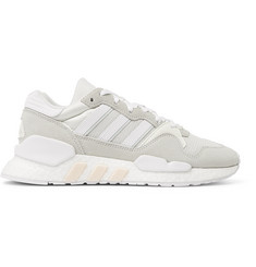 adidas Originals ZX 930 x EQT Mesh and Suede Sneakers