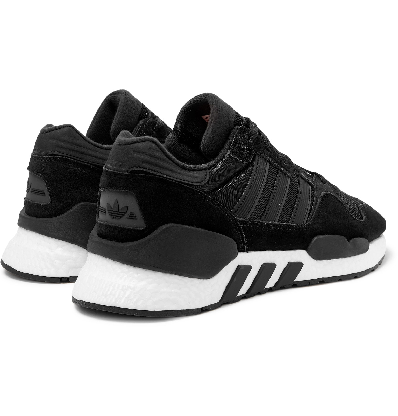 the best attitude 651fc 9a280 adidas OriginalsZX 930 x EQT Mesh and Suede Sneakers