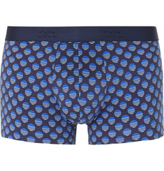 Derek Rose - Printed Stretch-Cotton Boxer Briefs