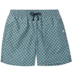 Derek Rose Tropez 4 Mid-Length Printed Swim Shorts