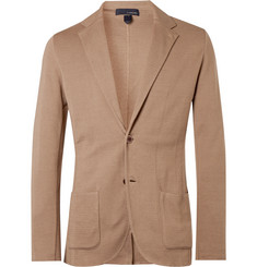 Lardini Sand Slim-Fit Unstructured Cotton Blazer