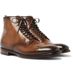 Officine Creative - Emory Cap-Toe Leather Boots