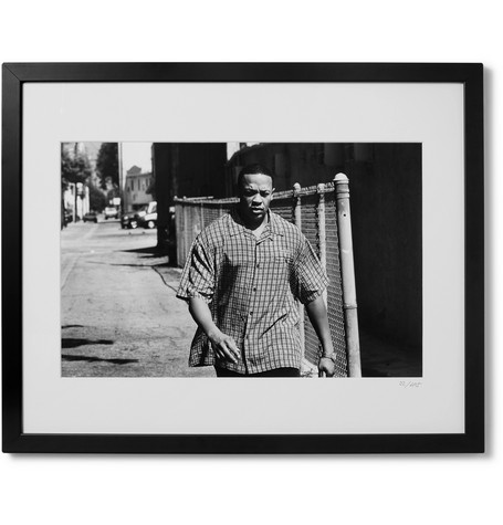 "SONIC EDITIONS Framed 1999 Dr. Dre Print, 16"" X 20"" in Black"