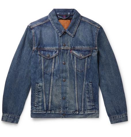 Flannel Lined Denim Trucker Jacket by Levi's