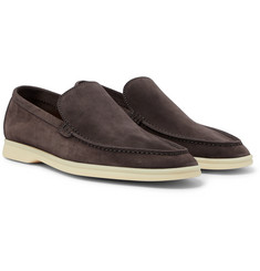 Loro Piana - Summer Walk Suede Loafers