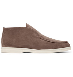 Loro Piana - Open Walk Suede Boots