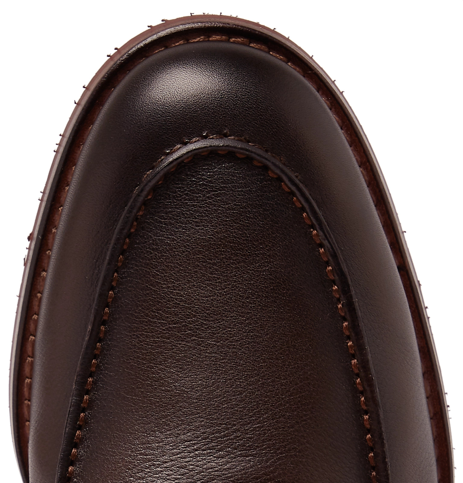 abd55a55af0 Loro Piana - City Life Full-Grain Leather Loafers