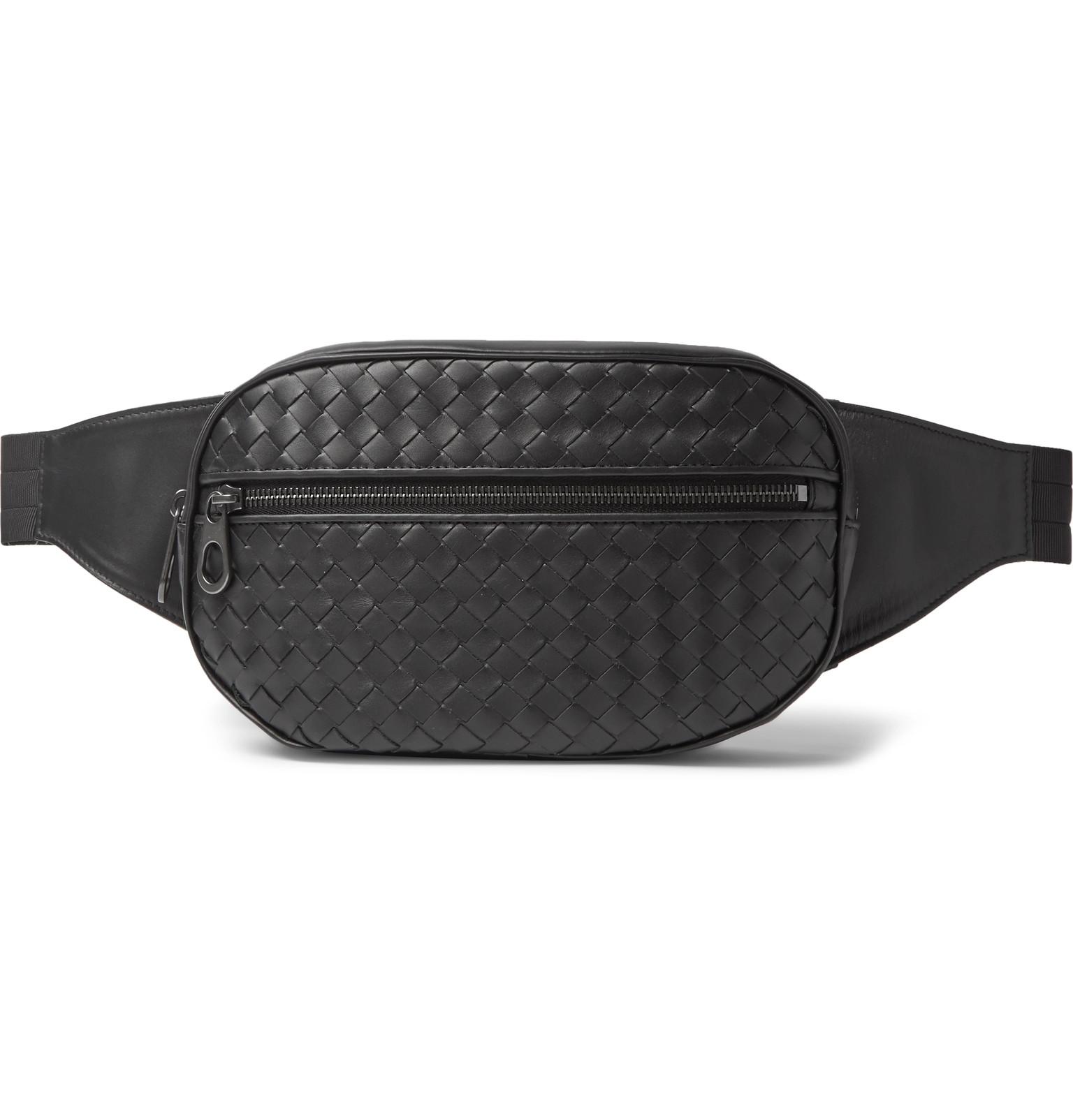 d7a76ddb7eb5 Bottega Veneta - Intrecciato Leather Belt Bag