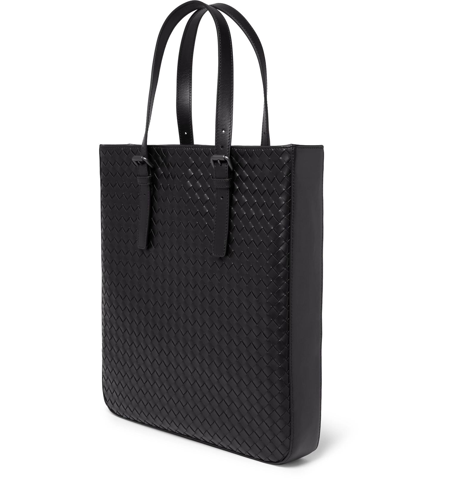 63dc836876 Bottega Veneta - Intrecciato Leather Tote Bag