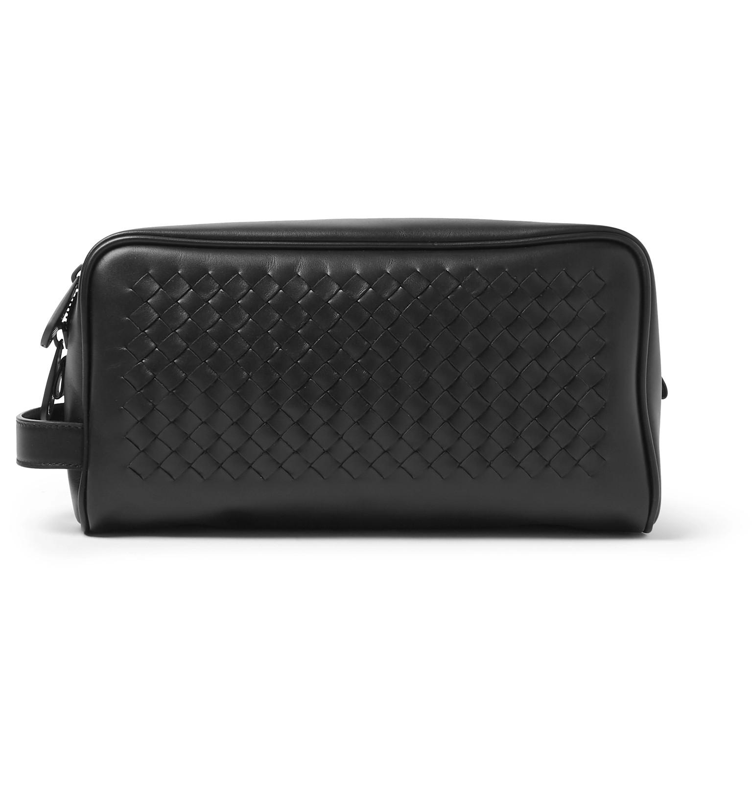 1619e1f42be1 Bottega Veneta - Intrecciato Leather Wash Bag
