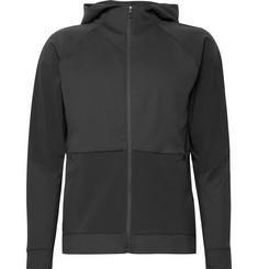 Lululemon - Cross Challenger Stretch-Nylon and Textured Stretch-Jersey Zip-Up Hoodie