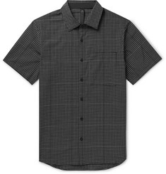 Lululemon Checked Woven Shirt