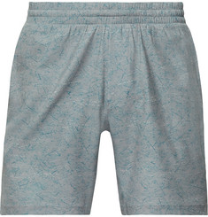 Lululemon Channel Cross Slim-Fit Mid-Length Printed Swim Shorts