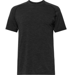 Lululemon - Metal Vent Tech Mélange Stretch-Jersey T-Shirt