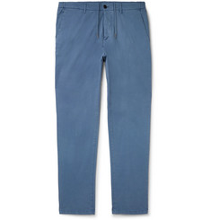 Altea Blue Dumbo Stretch-Cotton Gabardine Trousers