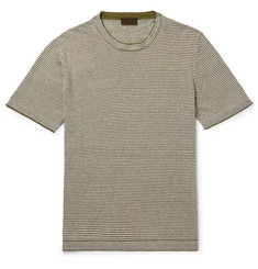Altea - Striped Linen T-Shirt