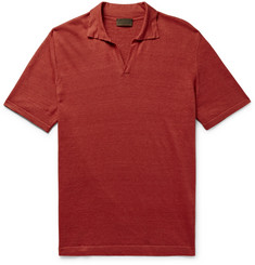 Altea - Linen Polo Shirt