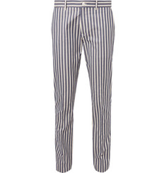 Connolly Striped Cotton Trousers