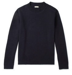 Connolly Waffle-Knit Cotton Sweater