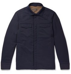 Loro Piana Tecnowool Padded Virgin Wool-Blend Overshirt