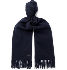Loro Piana - Fringed Brushed-Cashmere Scarf