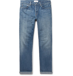 Mr P.-Slim-Fit Selvedge Denim Jeans