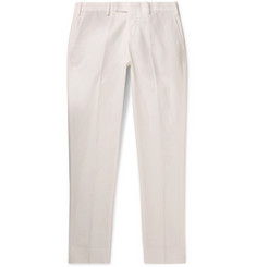 SALLE PRIVÉE - Gehry Slim-Fit Cotton and Linen-Blend Chinos