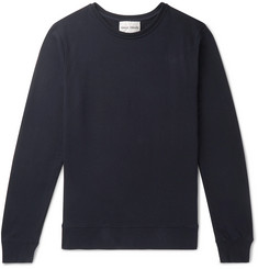 SALLE PRIVÉE Filippe Loopback Cotton-Jersey Sweatshirt