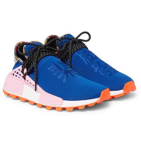 fcd8f0891ef76 adidas Consortium - + Pharrell Williams Hu NMD Primeknit Sneakers