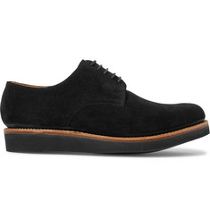 Grenson Curt Suede Derby Shoes