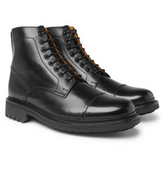 Grenson Joseph Polished-Leather Boots