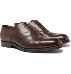 Grenson - Lucas Cap-Toe Leather Oxford Shoes