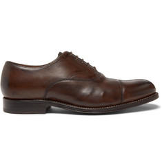 Grenson Lucas Cap-Toe Leather Oxford Shoes