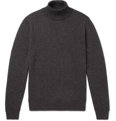 Mr P. - Slim-Fit Merino Wool Rollneck Sweater